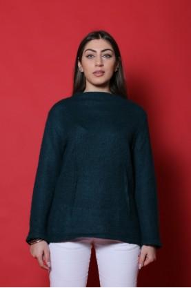 Penny Black maglia donna lana monair taglia L  verde girocollo