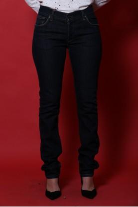 Daniele Alessandrini pantalone donna cotone taglia 46 jeans slim fit blu
