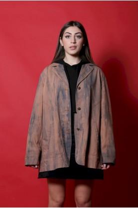 Elena Mirò Giacca donna Cotone taglia XL rosa jeans used regular