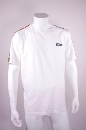 ELLESSE T-shirt bianca cotone Tg XL VINTAGE 80 90 style