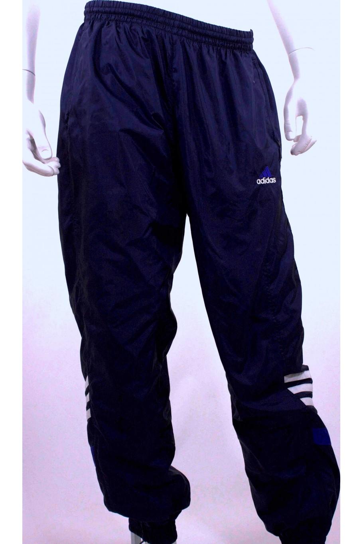 adidas pantaloni tuta blu