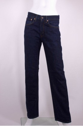 Levis 751 jeans donna tessuto denim tg 46 regular blu scuro