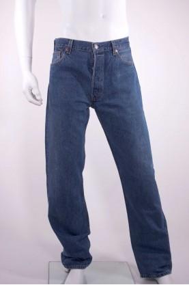 LEVIS 501 jeans uomo tg 52 denim regular fit pari al nuovo