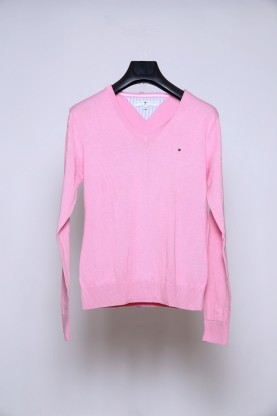 TOMMY HILFIGER maglia donna cotone casual tg M shirt woman casual