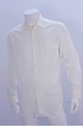 GIORGIO ARMANI camicia uomo tg 41 manica lunga