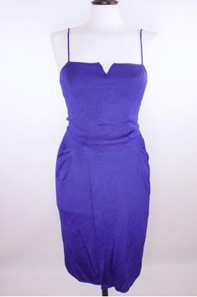 GIORGIO ARMANI abito donna elegante tg 40 abito scollatura cuore