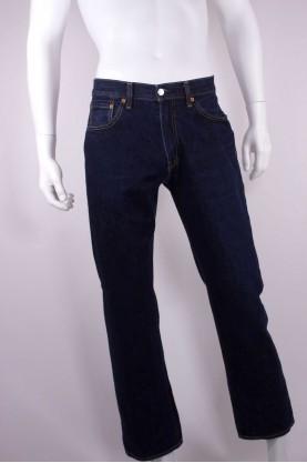 LEVI'S 751 jeans uomo tessuto cotone tg 48 regular blu scuro