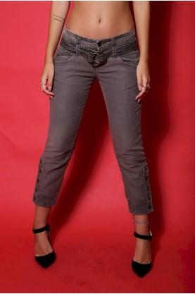 Jeans Cavalli 3/4 con taschino