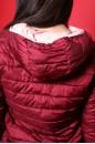 Napapijri Cappotto Donna Tessuto Poliestere TG S Regular Logo sul petto Bordeaux