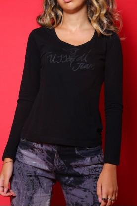 T-shirt donna Trussardi cotone
