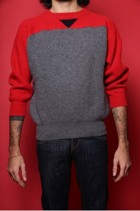 ICEBERG maglione lana uomo invernale  tg40 costine wool original