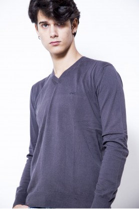 ARMANI jeans maglia uomo grigio sportiva style tg M shirt man original
