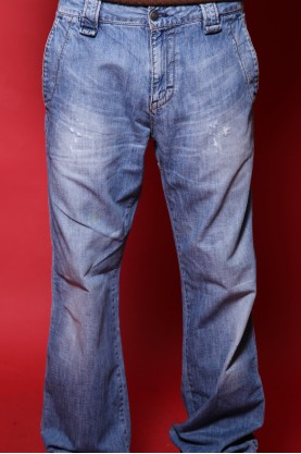 Calvin Klein Jeans used  cotone tg 46 regolar blue chiaro