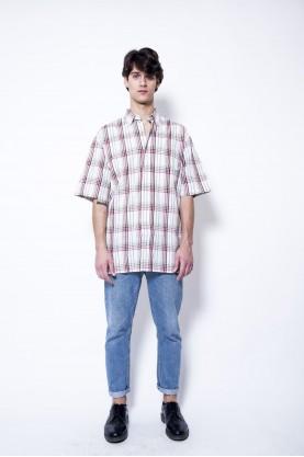 TIMBERLAND camicia uomo cotone quadri tgL manica corta man cotton
