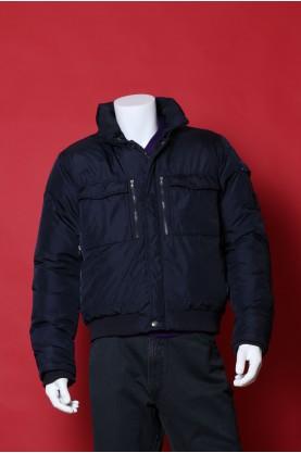 Calvin Klein giacca uomo taglia L regular Blu sport cotone impermeabile