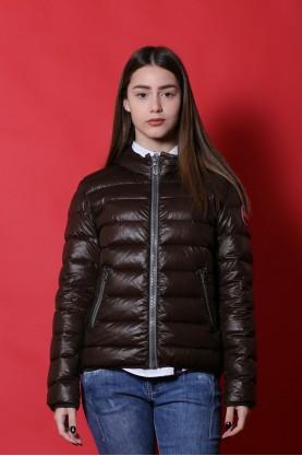 Colmar Giacca donna Nylon taglia 42 piumino marrone jacket