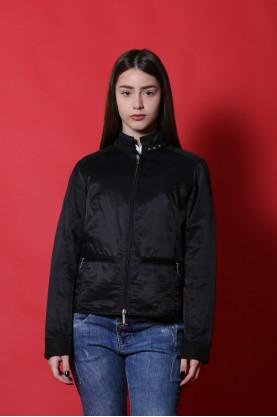 Les Copains Giacca donna Nylon taglia 42 nero jacket moto