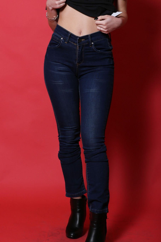 Dsquared pantalone jeans donna cotone taglia 42  slim fit blu