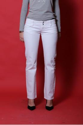 Gas pantalone jeans donna cotone taglia 44  slim fit bianco